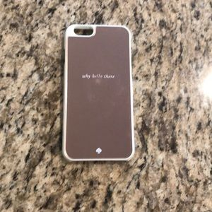 Kate Spade iPhone 6/6s Why Hello There Case